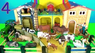 13 Country Farm Animals Surprise Toys 3D Puzzle Cow - including Pig...