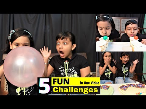 FUN Games Challenge / Top Five Funny Games Challenge  | #LearnWithPari