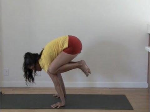 yoga crow beginner arm balance bakasana  shana meyerson