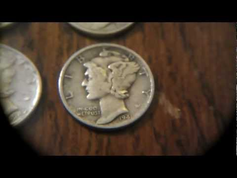 FIRST GOLD COIN  antique market finds, silver and coins (14/03/13)