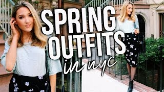 Spring Outfit Ideas 2017 + My Favorite Things To Do In NYC! Michelle Reed