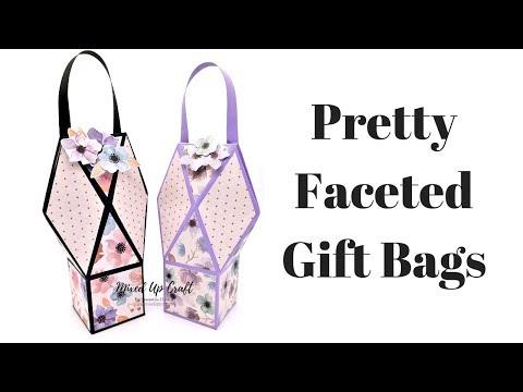 Faceted Gift Bags | Original Design