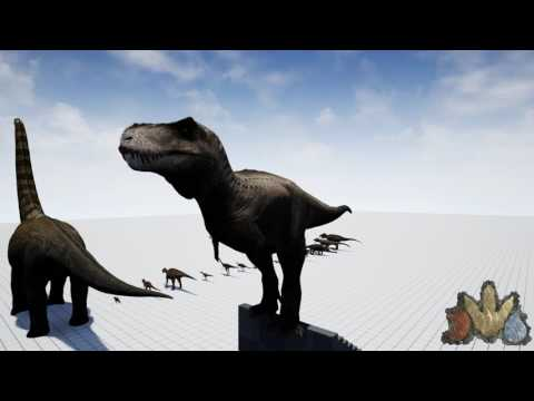 The Isle | Adult Tyrannosaurus rex sounds *Updated