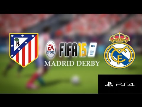 FIFA 15 Madrid Derby Gameplay (PS4): Atletico Madrid Vs. Real Madrid