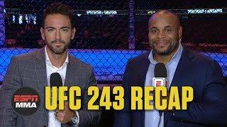 UFC 243 Recap: Israel Adesanya KOs Robert Whittaker to unify UFC middleweight title | ESPN MMA Video