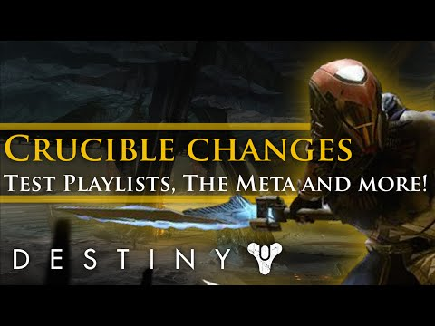 Destiny - Why the Crucible needs a balance test playlist!