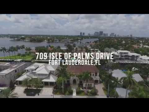 709 Isle of Palms Drive, Ft. Lauderdale, FL