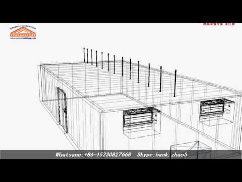 Cold rooms and cold storage design