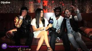 the Black Eyed Peas sing Happy Birthday to Fergie - 03 / 27 / 2009