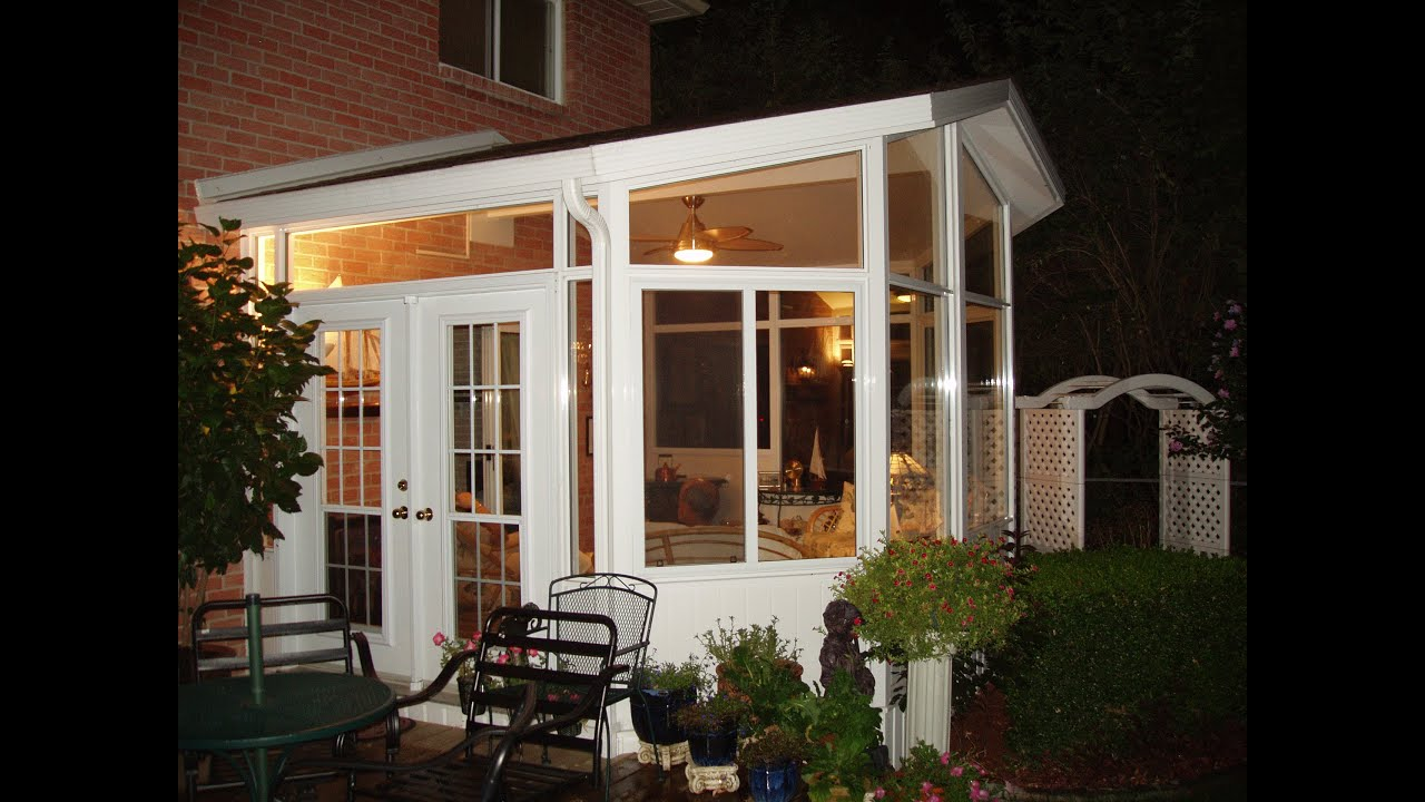 Ontario Sunrooms Video Tour - Lifestyle Home Products ...