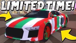 GET THIS *LIMITED TIME* MATERIAL WHILE YOU CAN! (Roblox Vehicle Simulator)