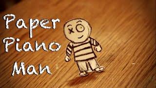 Paper Piano Man