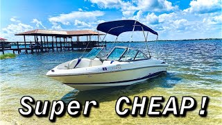 I Bought a Near Perfect Boat for SUPER CHEAP!