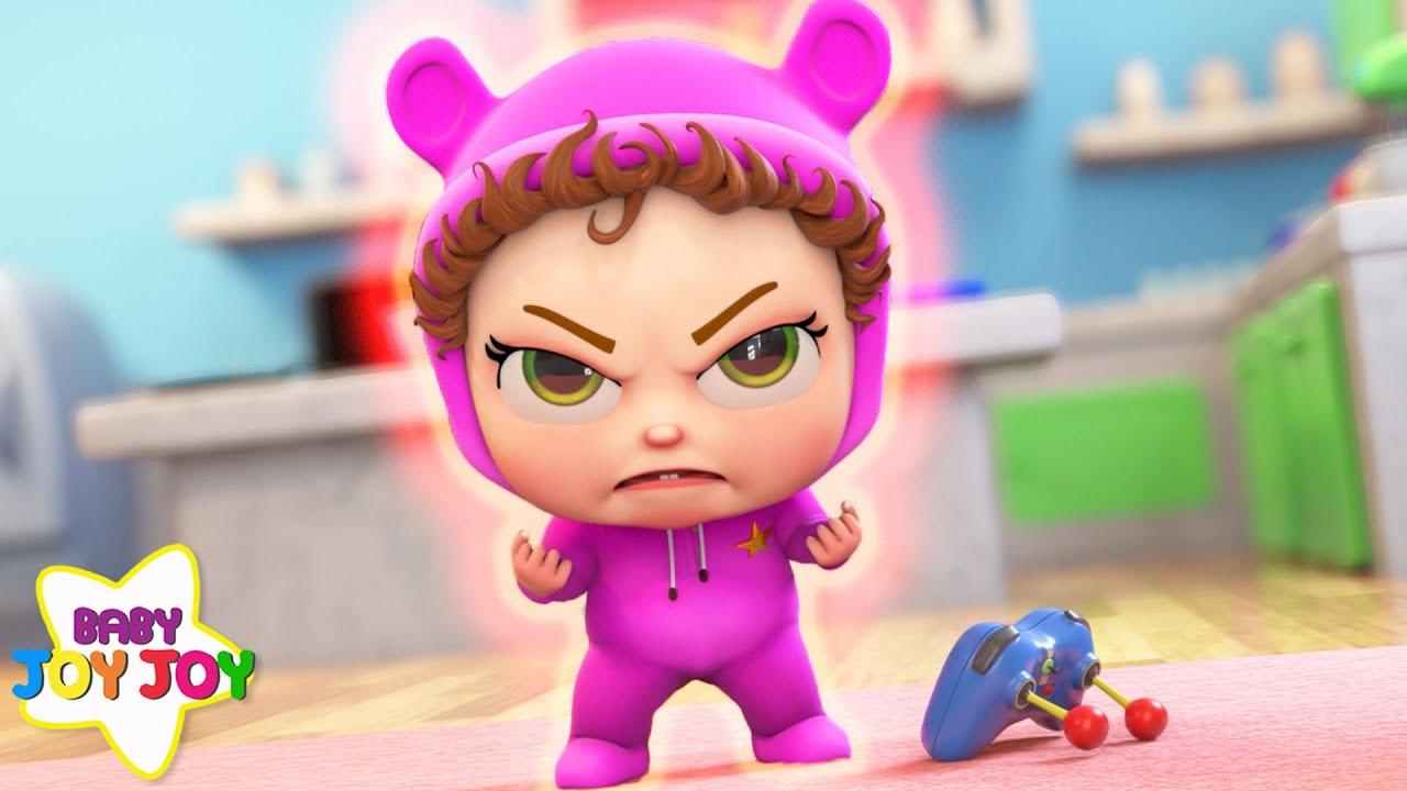 I Am Mad! | Baby Joy Joy