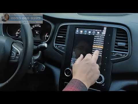 Megane 4 For-x Android Multimedya Navigasyon Tesla Ekran Incelememiz - Emr Garage Ankara