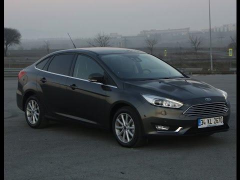 Yeni Ford Focus 1.6 TDCi dizel test sürüşü - yorum - inceleme