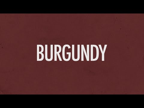 Earl Sweatshirt - Burgundy (Lyric Video) | LK Graphics