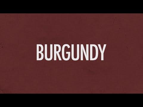 Earl Sweatshirt - Burgundy (Lyric Video) | LK Graphics