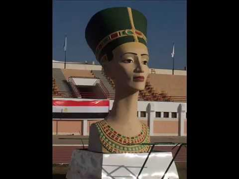 Sculptor Raafat Mansour   Nefertiti   Pharaonic   Egypt   Polyes