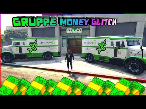 Gta 5 GRUPPE 6 Money Glitch ( Make Millions Under 5 Minutes )