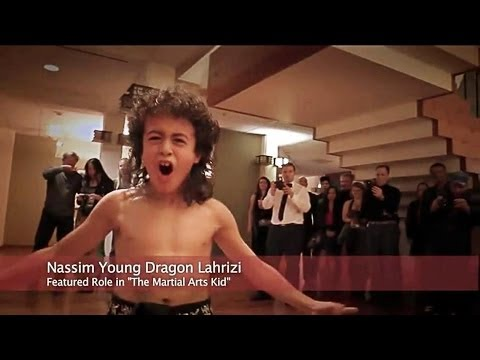 "Nassim Young Dragon Featured Role in ""The Martial Arts Kid ..."