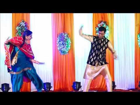 Bhaiya bhabhi dance performance on Ring Ceremony :By Anurag Bhandari and Divya Malhotra thumbnail