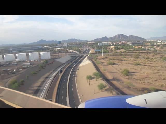 Southwest Airlines 737-700 Landing | Sky Harbor Airport | N448WN