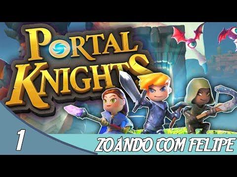 ZOANDO COM FILIPE - #01 PORTAL KNIGHTS feat: Felipe Rodrigues