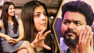 Varalakshmi Reveals Vijay's Unique Political Style | Interview | Keerthy Suresh, Sarkar Movie