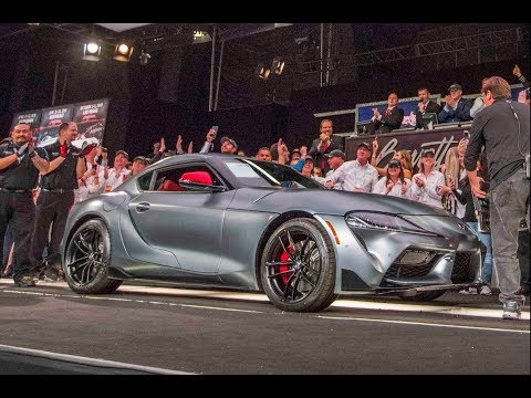 2020 Toyota Supra Charity Auction Interview - American Heart Association