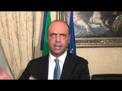 Angelino Alfano - Sicurezza in Italia nel 2015 (22.12.15)