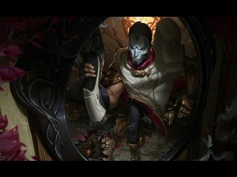 LoL Jhin Gameplay F**k han er op!!!