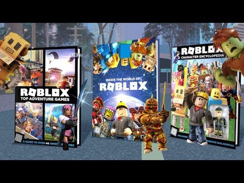 Discover The Official Roblox Books Youtube