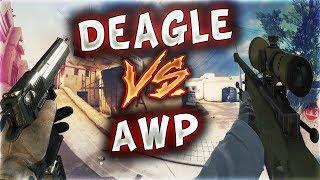 DEAGLE VS AWP KORKAK MERTCAN AĞLADI (CS:GO)