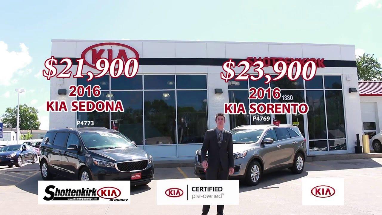 Kia Certified Pre Owned >> Kia Certified Pre Owned Sale Shottenkirk Kia