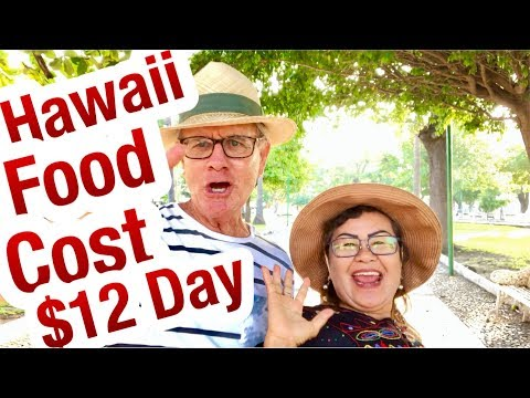 Hawaii food cost $12 a day? Budget travel