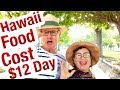 Hawaii Expense food COST $12 a DAY ? HAWAII Travels Vacation Destination.