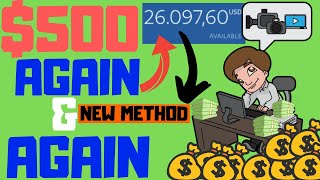 Earn $500 Over And Over Again (New Method) How To Make Money Online 2019