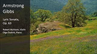 Armstrong Gibbs - Lyric Sonata, Op. 63
