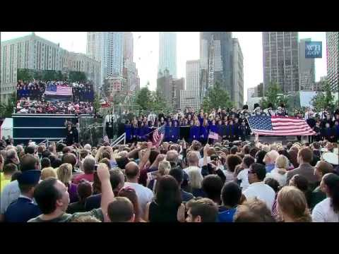 9/11 Tenth Anniversary - Memorial Service in New York
