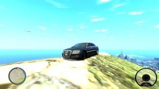 Гта 4 Краш Тест Драйв Audi A8 6.0L Quattro (Перевозчик 3) Стетхам у руля