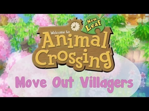 How To Move Out Unwanted Villagers In Animal Crossing New Leaf