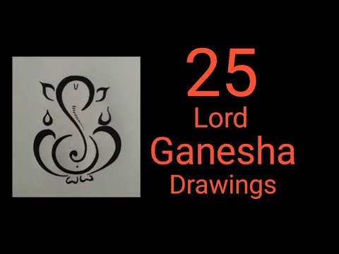 25 Different Images(designs) Of Lord Ganesha