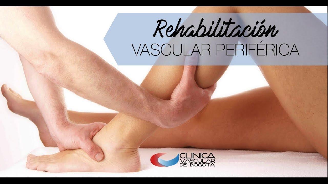 Rehabilitación Vascular Periférica Youtube