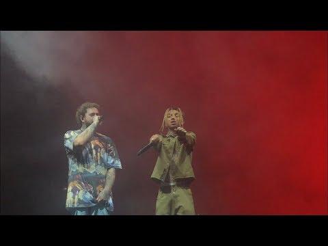 Post Malone & Swae Lee Sunflower Live Toronto Runaway Tour 2019