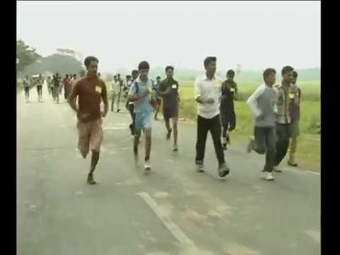 011212 EXCISE CONISTABLE 5K RUN VIS UNEMPLOYED YOUTH RUNNING VIS