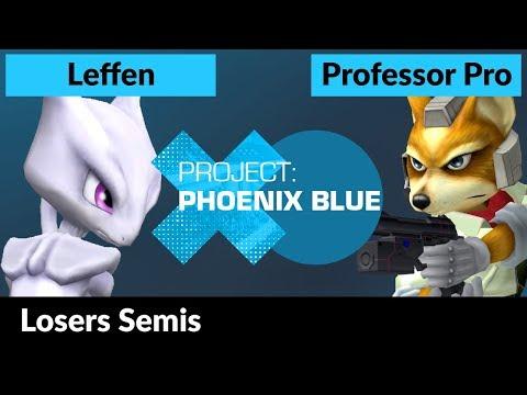PXB - RB TSM   Leffen (Mewtwo) Vs. Professor Pro (Fox) - Losers Semis - Melee Singles
