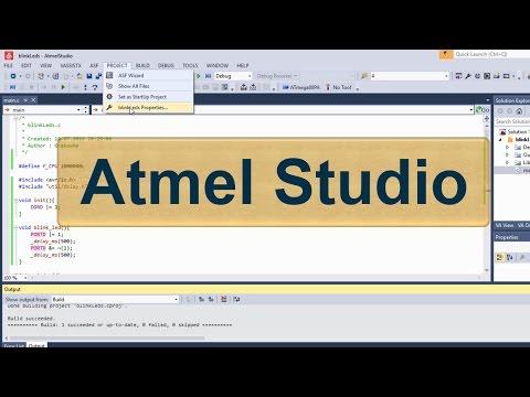 atmel studio 6 учебник на русском