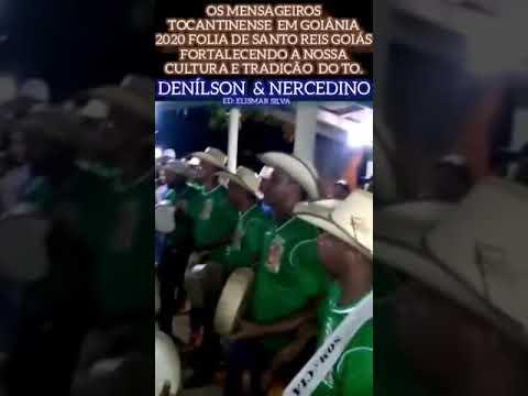 os dois irmãos Denilson e Nercedino folia em aparecida de Goiânia 2020