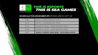 [LIVE] Esports @ SEA Games 2019 - DOTA2, AOV Playoffs & Mobile Legends (MLBB) Gold Medal Match